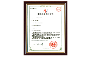 Patent 17: New type Constant Temperature and Humidity Heat Pump Patent Certificate
