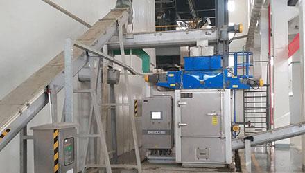 SBDD7200FL Applied in 14T Electroplating Sludge Disposal