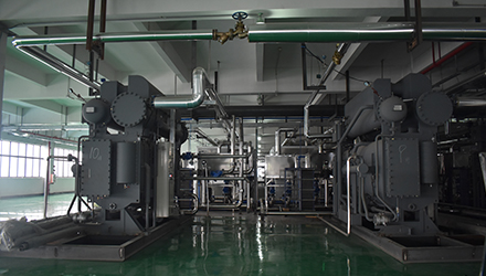 10 Sets SBWHD50000 Applied in 1000T Jialida Sludge Centralized Disposal Center
