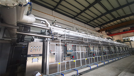 Zhejiang 2 Sets SBWHD45000 Applied in 200T Sludge Centralized Disposal Center