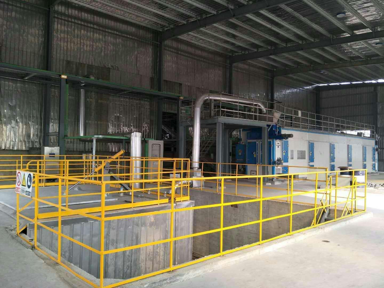 40T Wet Chemical Mud Dried by SBWHD25000 Waste Heat Sludge Dryer