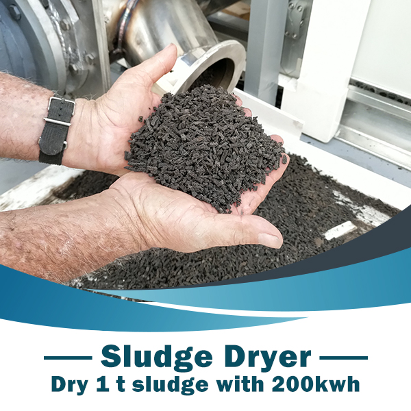 Shincci: Based on the fundamentals, deep research on sludge drying technology